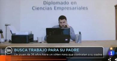 Video viral para encontrar trabajo en las redes sociales