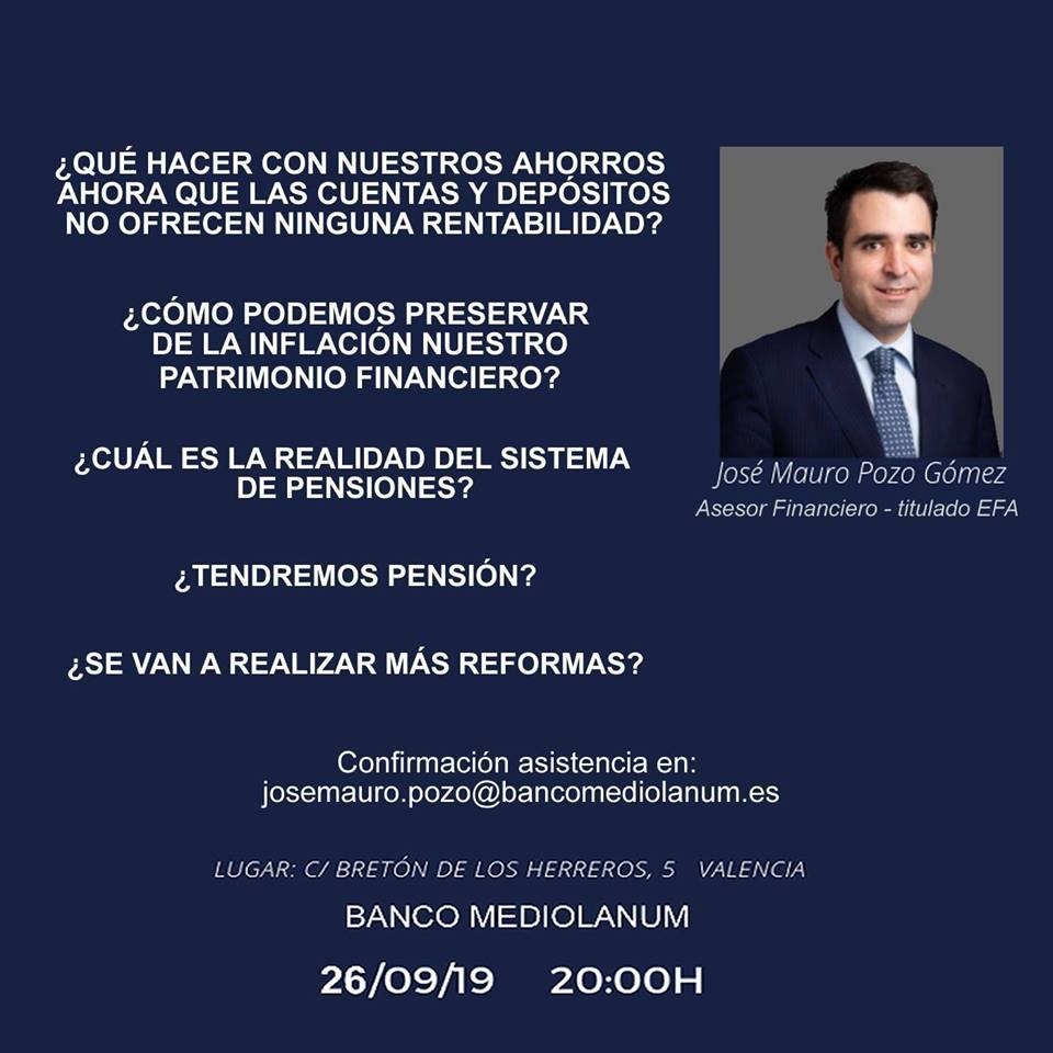 jose mauro pozo evento valencia - asesor financiero personal en valencia - marketing y seo beoffon 2019 - 1